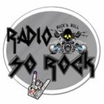 Logo da emissora Rádio Só Rock
