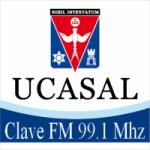Logo da emissora Radio Clave 99.1 FM