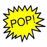 Logo da emissora Rádio Somos Pop