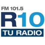 Logo da emissora Radio 10 101.5 FM