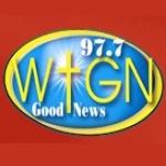 Logo da emissora WTGN 97.7 FM