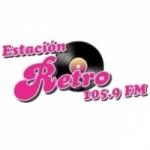 Logo da emissora Radio Estación Retro 105.9 FM