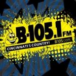 Logo da emissora WUBE 105.1 FM