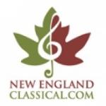 Logo da emissora New England Classical Christmas