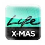 Logo da emissora Life Radio Xmas