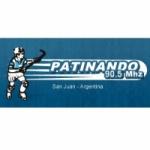 Logo da emissora Radio Patinando 90.5 FM