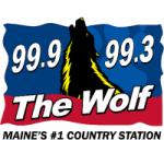 Logo da emissora Radio WBQQ 99.3 The Wolf FM