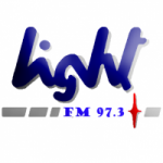 Logo da emissora Radio Light 97.3 FM