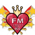 Logo da emissora Radio Corazón 95.5 FM