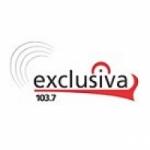Logo da emissora Radio Exclusiva 103.7 FM