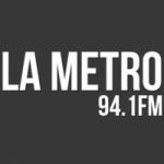 Logo da emissora Radio La Metro 94.1 FM