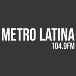 Logo da emissora Radio Metro 104.9 FM