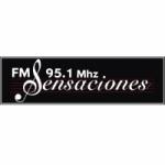 Logo da emissora Radio Sensaciones 95.1 FM