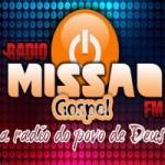 Logo da emissora Missão Gospel FM