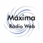 Logo da emissora Máxima Rádio Web