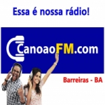 Logo da emissora Canoão FM