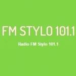Logo da emissora Radio Stylo 101.1 FM