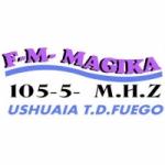 Logo da emissora Radio Magika 105.5 FM