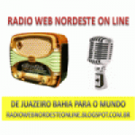 Logo da emissora Rádio Web Nordeste Online