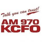 Logo da emissora Radio KCFO 970 AM