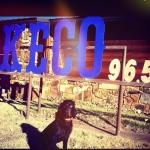 Logo da emissora Radio KECO 96.5 FM
