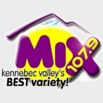 Logo da emissora Radio WFMX Mix 107.9 FM