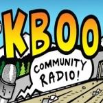 Logo da emissora Radio KBOO 90.7 FM