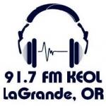Logo da emissora Radio KEOL 91.7 FM
