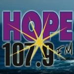 Logo da emissora Radio KHPE 107.9 FM