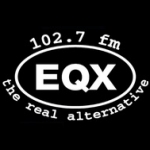 Logo da emissora WEQX 102.7 FM