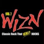 Logo da emissora WIZN 106.7 FM
