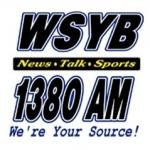 Logo da emissora WSYB 1380 AM