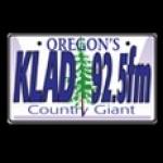 Logo da emissora KLAD 92.5 FM