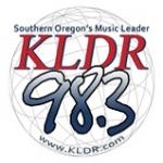 Logo da emissora KLDR 98.3 FM