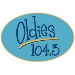 Logo da emissora WWOD 104.3 FM