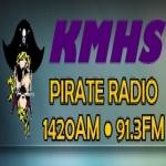 Logo da emissora KMHS 91.3 FM