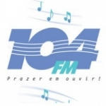 Logo da emissora R�dio 104 FM