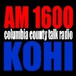 Logo da emissora KOHI 1600 AM