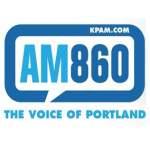 Logo da emissora KPAM 860 AM