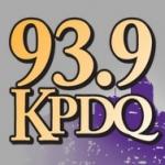 Logo da emissora KPDQ 93.9 FM