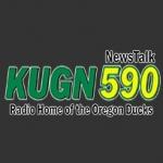 Logo da emissora KUGN 590 AM