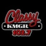 Logo da emissora KMGR 95.9 FM