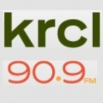 Logo da emissora KRCL 90.9 FM