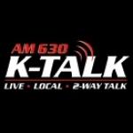 Logo da emissora KTKK Talk 630 AM