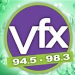 Logo da emissora KVFX 94.5 FM