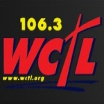 Logo da emissora WCTL 106.3 FM