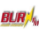 Logo da emissora Burn FM