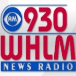 Logo da emissora WHLM 930 AM