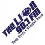 Logo da emissora WKPS Penn State 90.7 FM