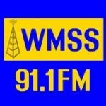 Logo da emissora WMSS 91.1 FM